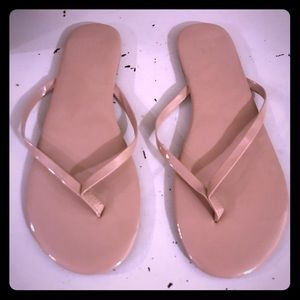 New York & Company nude sandals 10